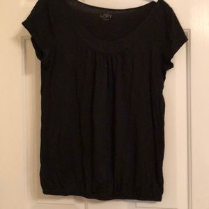 Loft t-shirt with cinched waist